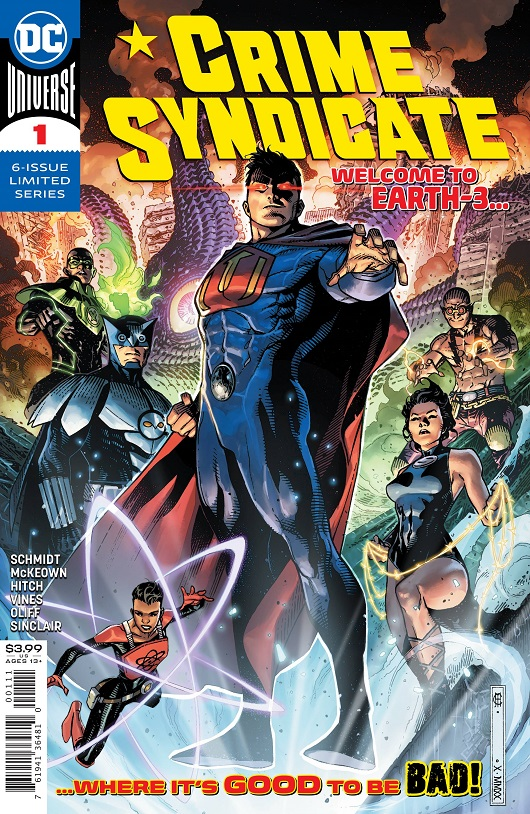 Cover of Crime Syndicate #1