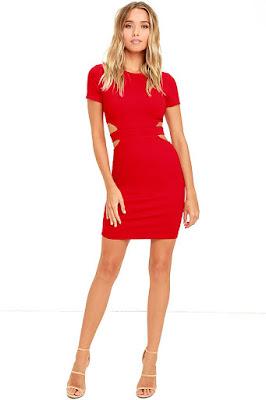 Vestidos para señoritas rojos