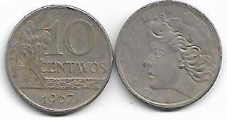 10 centavos, 1967
