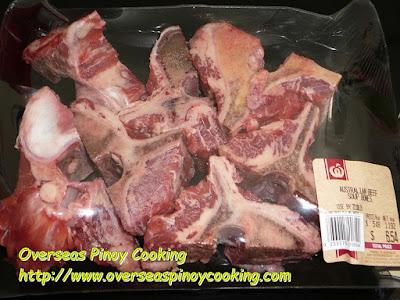 Beef Sopas, Beef Buto Buto - Beef Bones