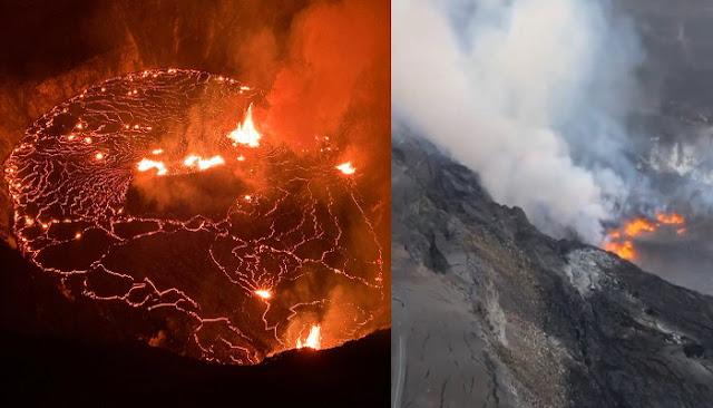 Κόκκινος συναγερμός στη Χαβάη το ηφαίστειο  Kilauea εκρήγνυται μετά από 124 σεισμούς σε λιγότερο από 24 ώρες