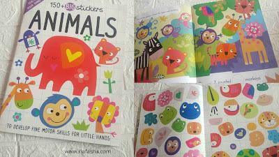 buku big Stickers : Animals