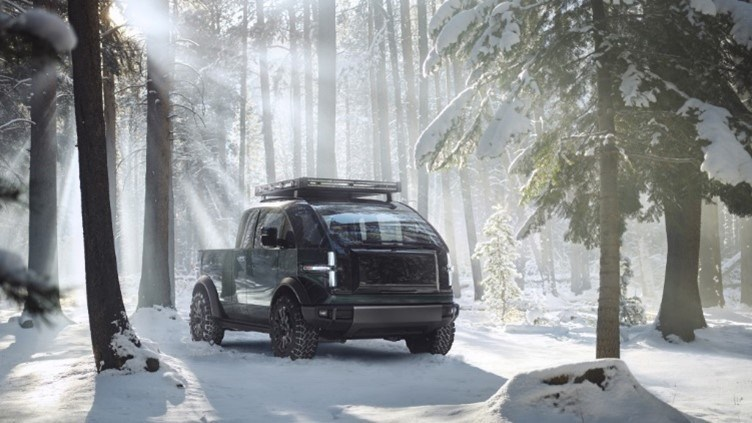 Canoo's New Pickup Is All Electric, All American - Ready For Work & The Weekend