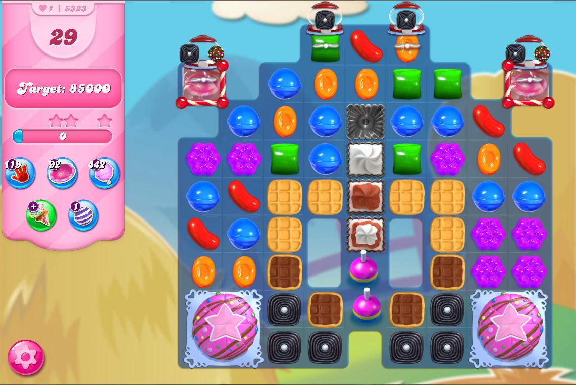 Candy Crush Saga level 5383