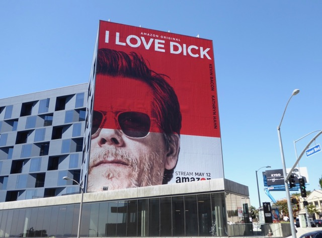 I Love Dick series premiere billboard
