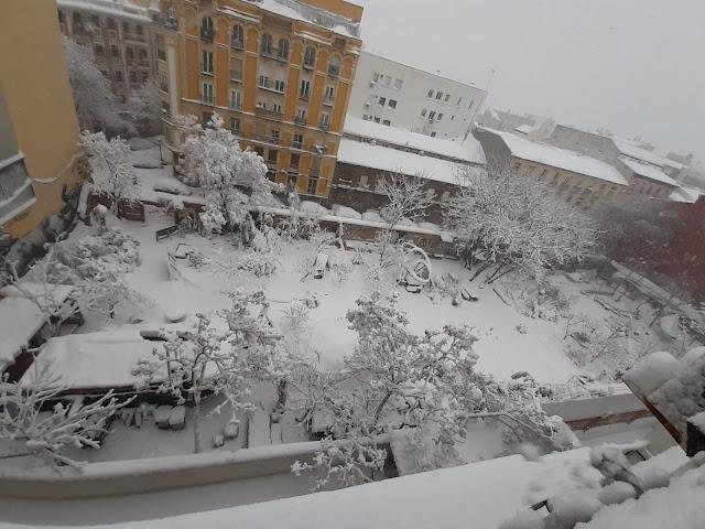 Esta es Una plaza Snow