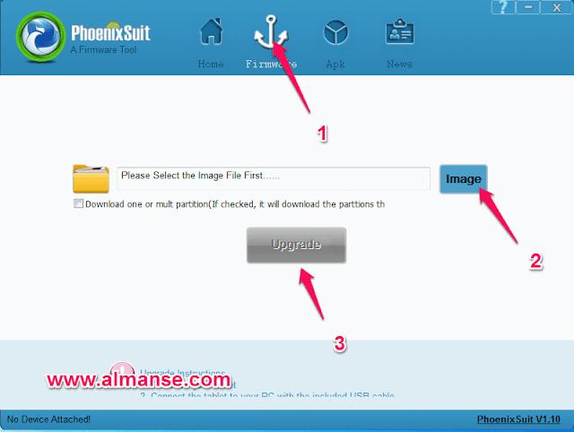Flashing allwinner Chinese tablet using PhoenixSuit