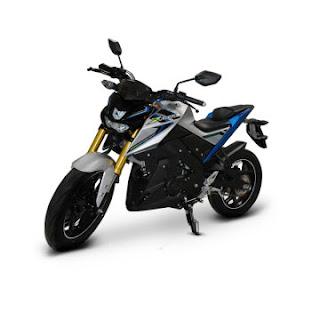 Dealer Motor Yamaha Xabre 150 di Solo warna biru