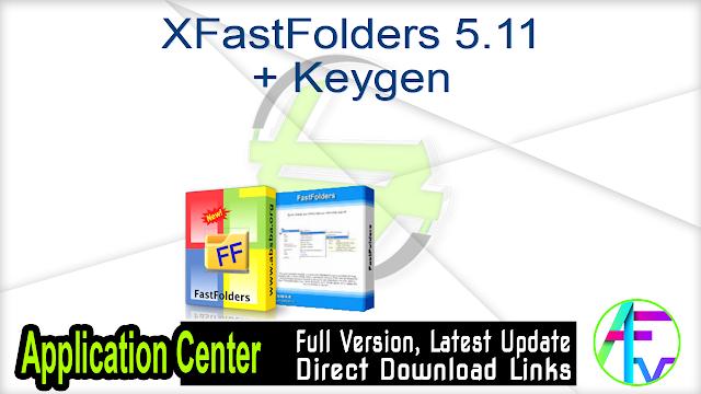 FastFolders 5.11 + Keygen