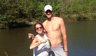 John Isner And His Wife Madison Mckinley Fishing Time