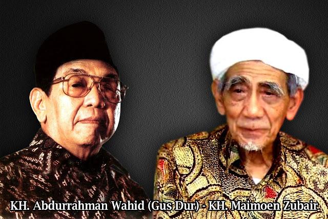 Mbah Maimoen Zubair Takut Kuwalat dengan Gus Dur