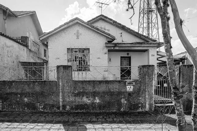 Casa na Rua São Sebastião - fachada