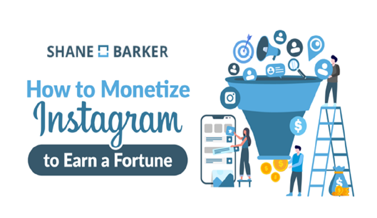 How You Can Easily Make Money on Instagram A Guide #infographic