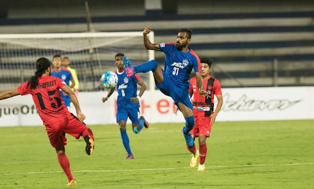 Bengaluru FC held by Minerva Punjab FC