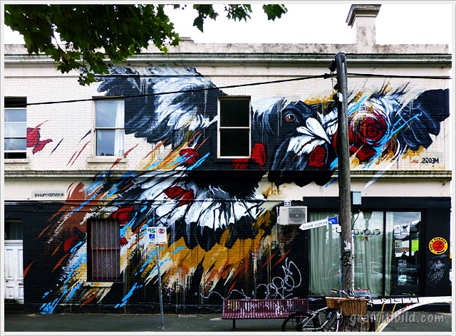 Melbourne Street Art Guide and Photos