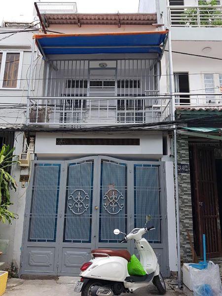 Bán nhà hẻm 432A Dương Bá Trạc phường 1 Quận 8. DT 3,5 x 10,5m (nở hậu 3,94m)