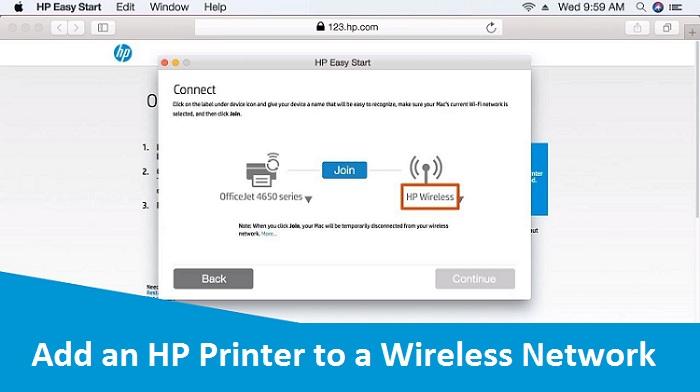 Add an HP Printer to a Wireless Network