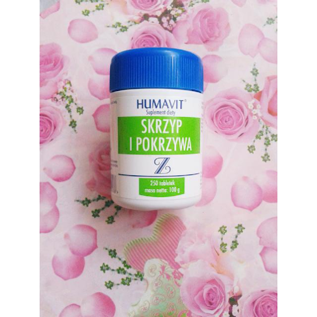 Szybki porost włosów - tabletki HUMAVIT Skrzyp i pokrzywa