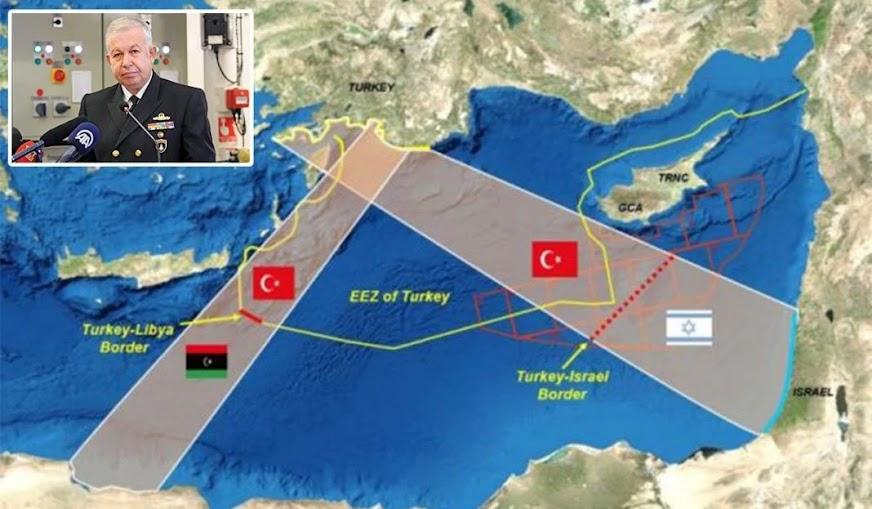 Τούρκος απόστρατος «σβήνει» την Κύπρο από τον χάρτη!