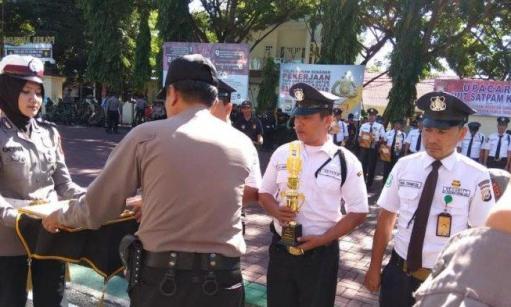 Balai Taman Nasional Takabonerate, Raih Terbaik Ke 2 Penghargaan Pos Satpam 2019