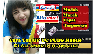 Cara Top Up UC PUBG Mobile Lewat Indomaret/Alfamart