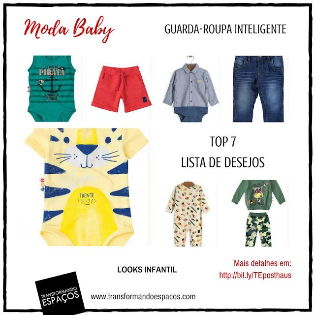 7 peças básicas - Moda Baby Meninos