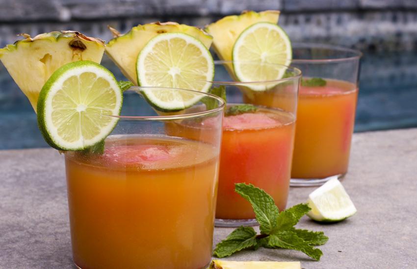 Ромовый коктейль на Багамах
