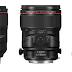 Canon breidt L-serie uit met vier hoogwaardige prime objectieven