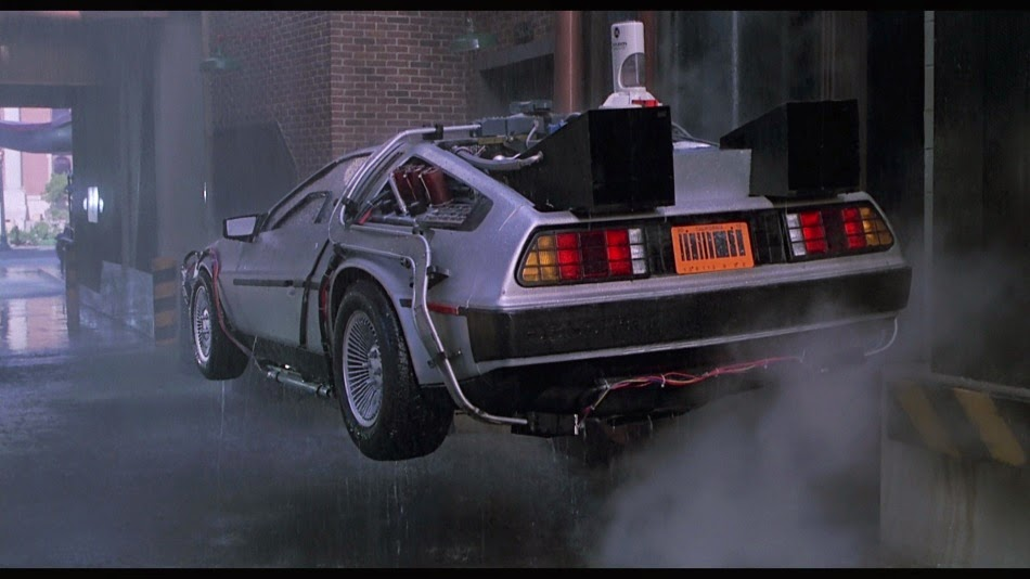 Resultado de imagen para back to the future car