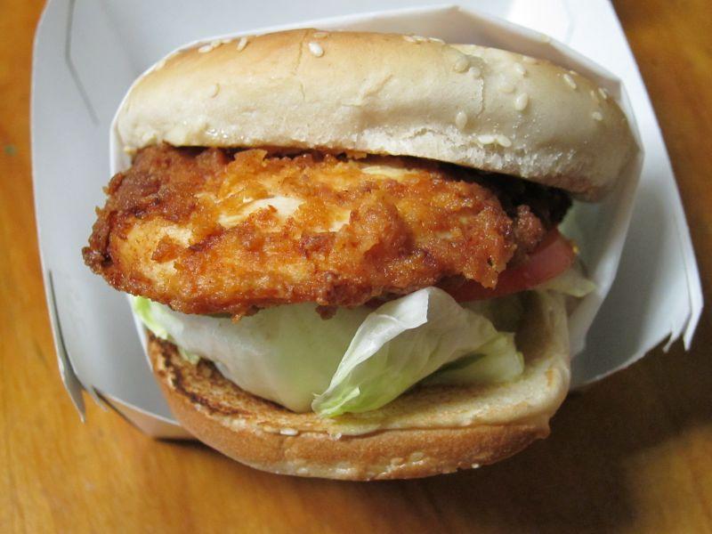 Review carl 39 s jr hand breaded chicken fillet sandwich for Carl s jr fish sandwich