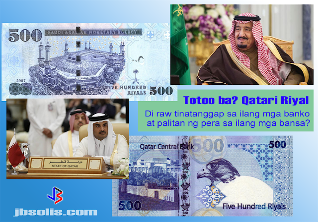 "Reports are coming in that numerous banks and currency exchanges outside Qatar are refusing to deal in Qatari riyals amid the ongoing diplomatic spat in the Gulf. Several Qatari nationals and residents traveling in Europe, the US and Asia have contacted news agencies saying they have been unable to exchange Qatari currency in the countries they were visiting. However, not all banks in all countries are affected. Exchanges in Jordan and Lebanon, for example, are still operating normally.  Many exchange houses in the Gulf reportedly stopped accepting riyals early on in the crisis, and just last week, global institutions have followed.  Among countries confirmed as having orders to avoid the currency include the United States, UK, Thailand, India, Sri Lanka, Pakistan, and the Philippines - the last four having a significant number of expat workers in Qatar.  The governments of some of these countries deny that there is an official order to refuse trade in Qatari riyals, however, there is also no memo to say that the banks and exchanges cannot refuse either.  In early June, Qatar's Gulf neighbours Saudi Arabia, UAE, Bahrain and Egypt ceased air, sea and land links with the country, which has been accused of funding terrorism. Qatar denies the claim.  One effect of the diplomatic crisis in the gulf region is that the Qatari riyals is now unprofitable for many banks. This is because the currency recently depreciated against the US dollar, which it has been pegged to since July 2001. The Qatar Central Bank (QCB) attempts to keep the riyal fixed at around 3.64 per dollar. But it recently reached 3.76  – its weakest level on record.  The Post Office, one of the UK's main operators of currency-exchange services, said it took the decision to ""temporarily"" stop trading in riyals on June 5. Other UK foreign exchange services ceased trading Qatar riyals from 21 June. The currency is no longer available for sale or buy-back across branches of Barclays, RBS, Lloyds Banking Group and Tesco Bank. However, currency supplier Travelex said trading in riyals had only been suspended in some markets due to ""business challenges"" and that it announced it has resumed purchasing Qatar riyal globally.  Western Union and UAE Exchange have issued responses that they will continue to trade in Qatari riyals.  For the millions of foreign workers in Qatar, transferring money back home is also taking longer because new routes are being found.  The increasing volatility of the currency outside the country also means that the income of foreign workers are becoming smaller as the value of the riyal falls. But the The world's biggest liquefied natural gas exporter has huge dollar reserves with which it could use to defend its currency against devaluation. The Qatari central bank declared in the early hours of June 10 that it would guarantee all dealings for customers inside and outside Qatar.  However, expat workers are still affected. An an example, two exchange houses in Dubai said they would buy 1,000 Qatari riyals for only 710 or 720 UAE dirhams – far below the 970 dirhams which they offered before the crisis. That is a 25% loss in value.  Are you an expat working or living in Qatar? Have you had similar experience in dealing with banks or exchange rates. Please comment and let others know."