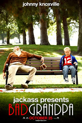Poster oficial pentru comedia Bad Grandpa