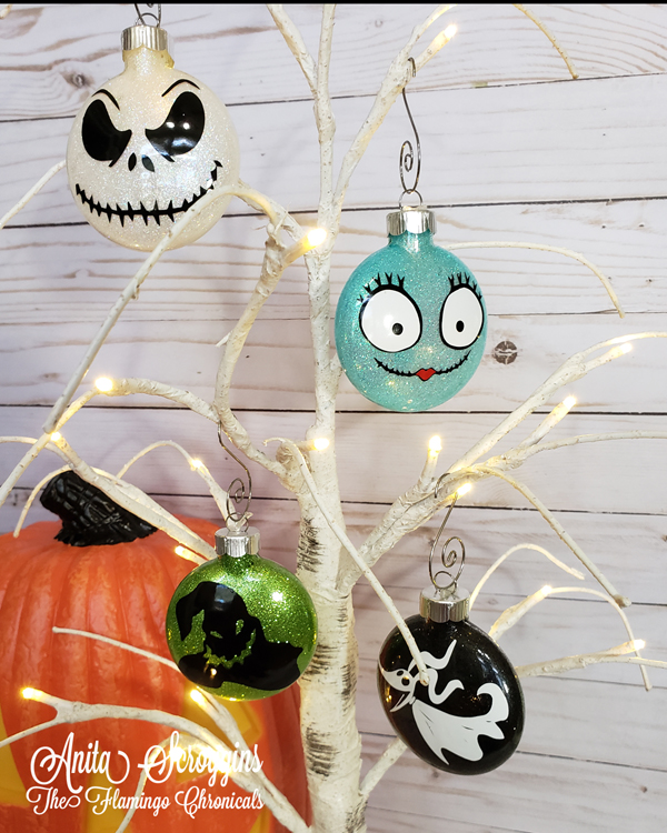 Nightmare Before Christmas DIY Ornaments