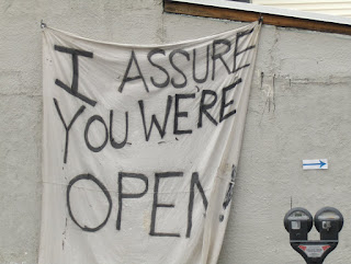YES We're Still Open!: Sorry for the Hiatus