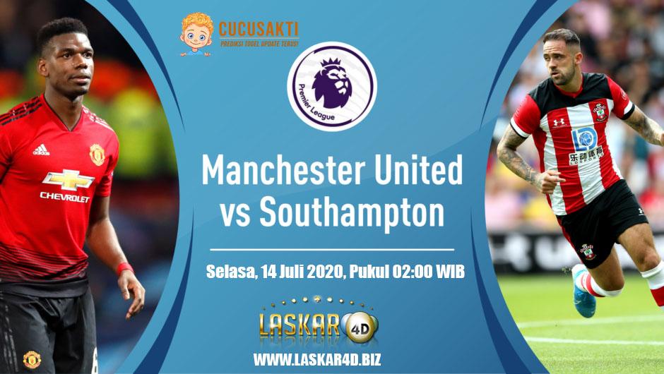 Prediksi Bola Manchester United vs Southampton Selasa, 14 Juli 2020