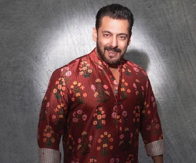 Diwali पर रंग-बिरंगे कुर्ते में नजर आए सलमान खान, दी फैंस को बधाई