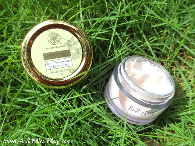 Forest Essentials Iced Pomegranate & Kerala Lime Body Cream Review