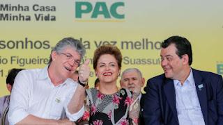 Audiência pública com a presença de Dilma acontecerá no dia 8, na Paraíba