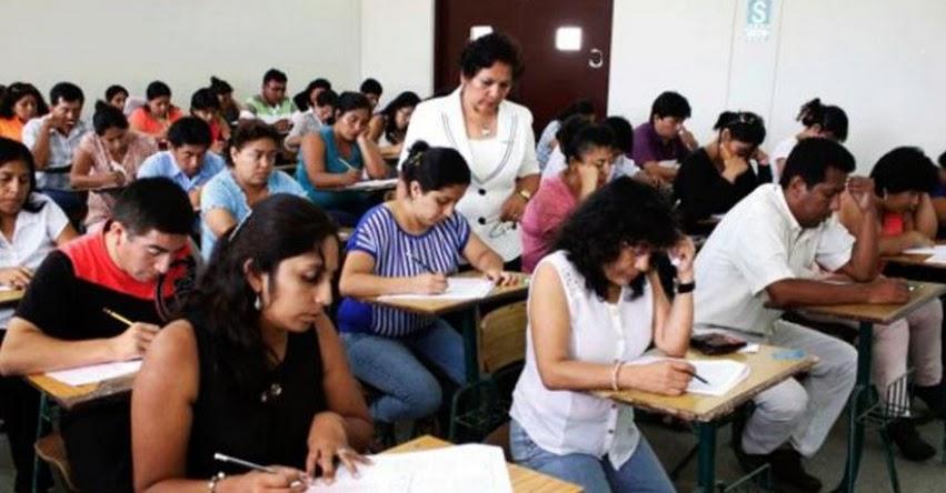 NOMBRAMIENTO DOCENTE: 22 mil docentes concursan por 37 mil plazas. Minedu aumentó vacantes durante huelga magisterial