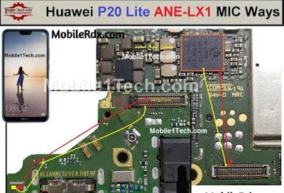 P20 Huawei Lite Mic Ways