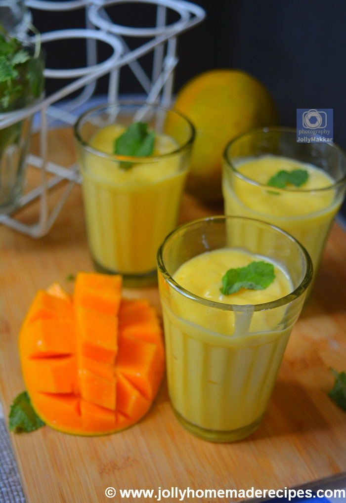 Mango Lassi with Rose Water