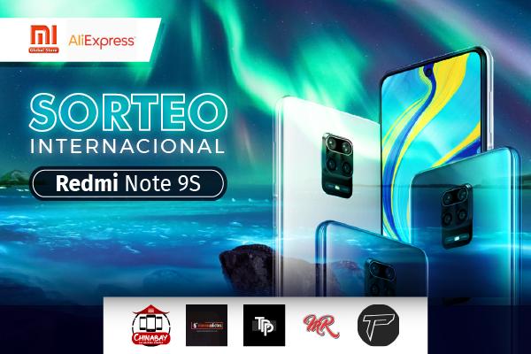 Sorteio de Um Xiaomi Redmi Note 9S!!