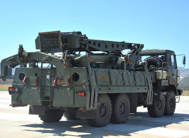 «Στήνονται» οι S-400 στην Τουρκία;