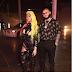 Nicki Minaj again bares her boobs again in leather outfit