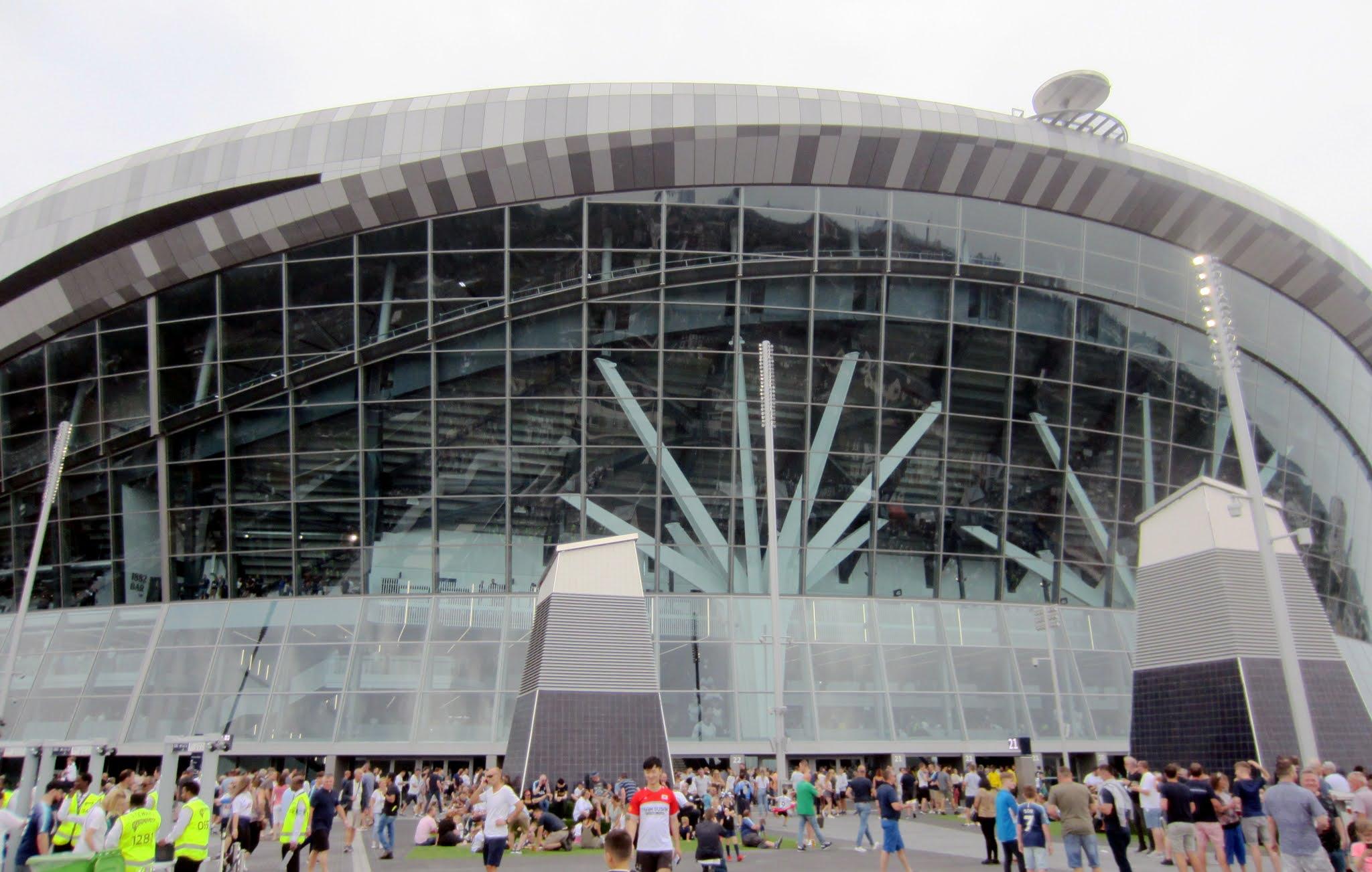 Exterior of Tottenham Hotspur Stadium