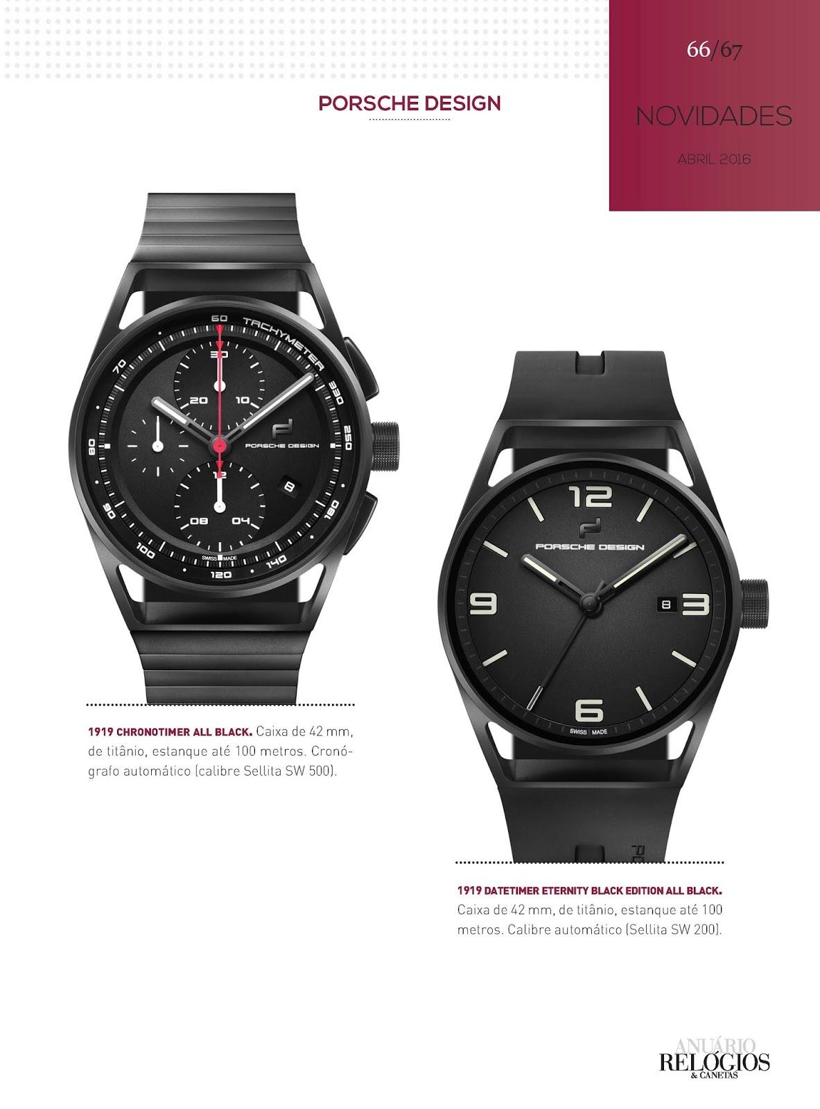 2f4f1bd966a Estação Cronográfica  Relógios   Canetas online - Porsche Design