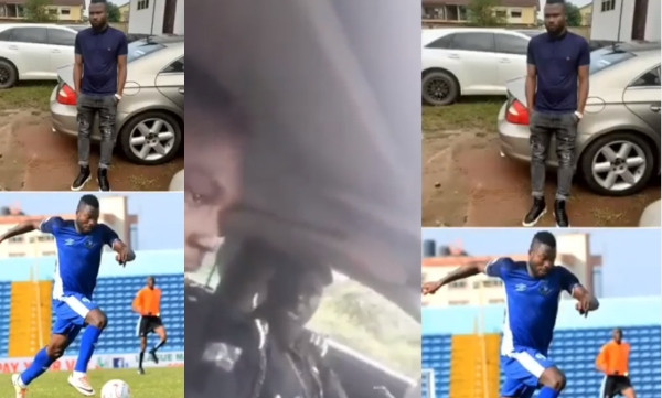 Any young man who has a Benz is a fraudster:  policeman tells Stephen Chukwude, Enyimba FC player