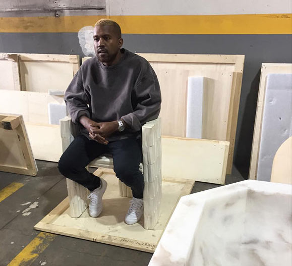 Kanye West finally makes public appearance after mental breakdown + new hairstyle