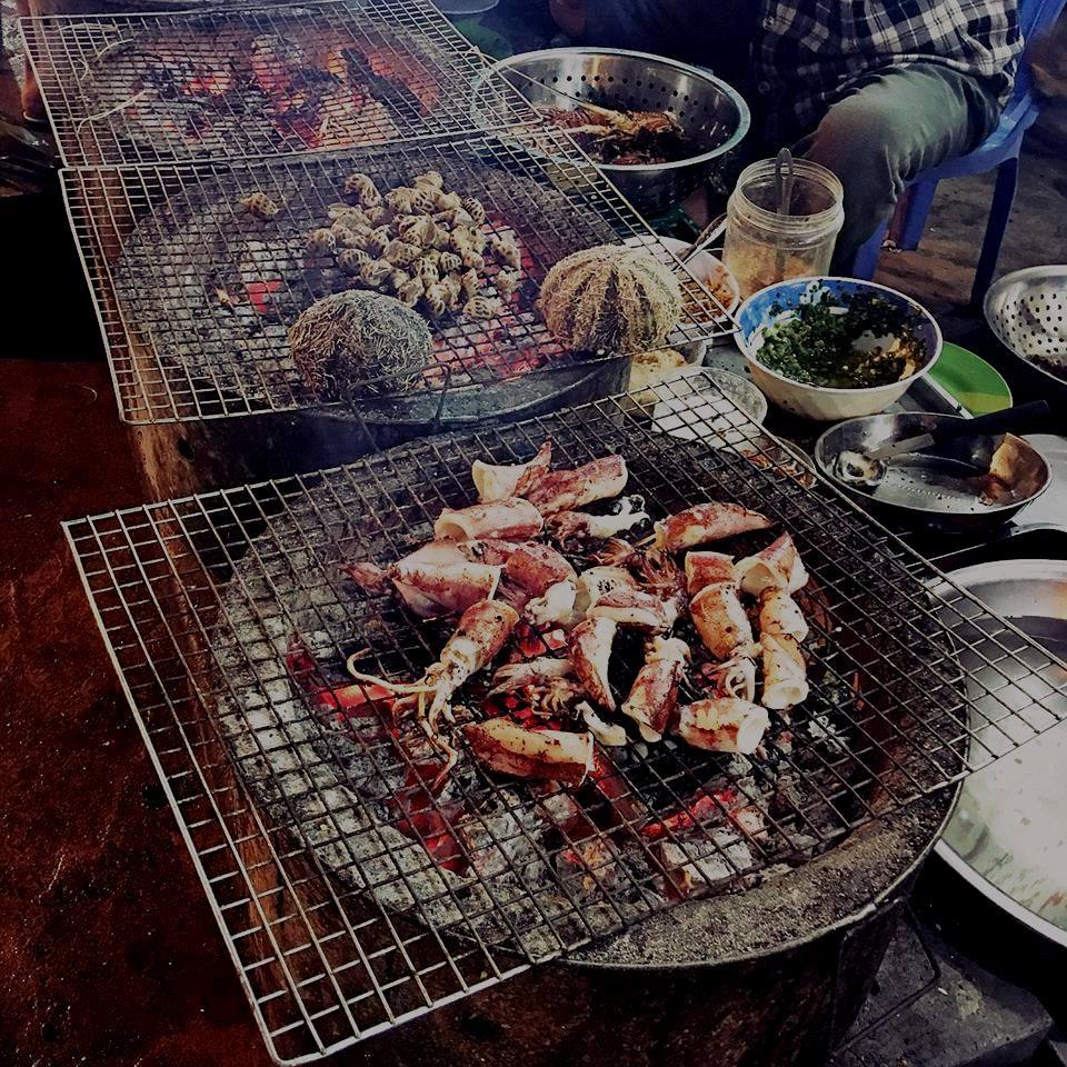 Tôm nướng Nha Trang