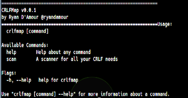 CRLFMap – A Tool To Find HTTP Splitting Vulnerabilities